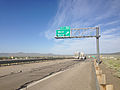 2014-06-10 17 56 37 Sign for Exit 351 along eastbound Interstate 80 in Wells, Nevada.JPG