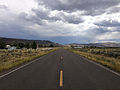 2014-08-19 14 44 06 View south along Nevada State Route 225 (Mountain City Highway) about 99.6 miles north of Nevada State Route 535 (Idaho Street) in Owyhee, Nevada.JPG