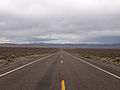 2014-09-08 15 18 19 View east along U.S. Route 50 about 36.1 miles east of the Churchill County line in Lander County, Nevada.JPG