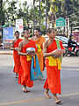 201401010908a (Hartmann Linge) Sukhothai Ratchathanee Monks.jpg