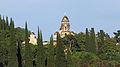 2014 Nowy Aton, Widok na Monaster Nowy Athos (04).jpg