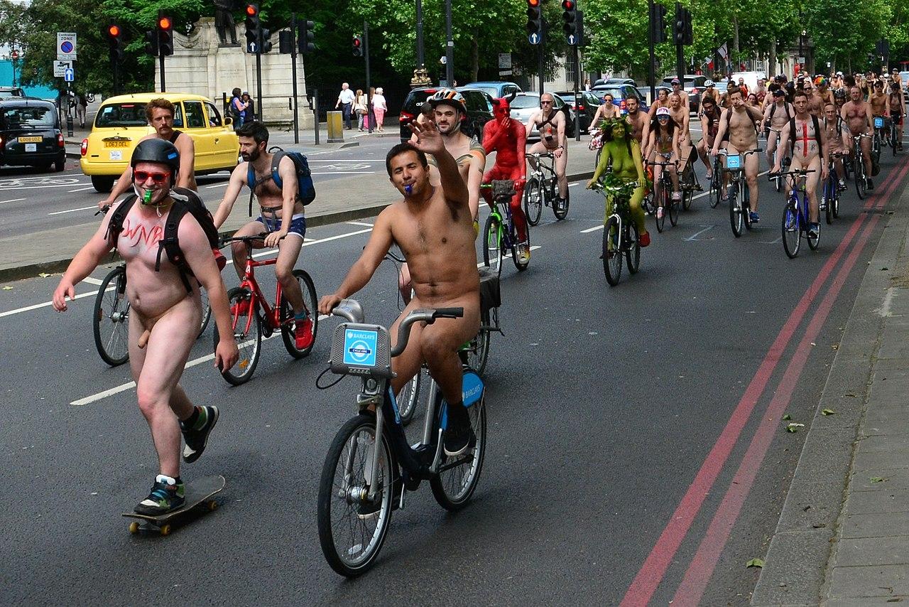 Nude bike ride toronto 3