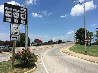 Virginia State Route 337 - SR 337 Alternate in South Norfolk
