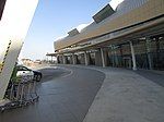 2017-08-20 Outside the Arrivals hall at the terminal, Faro airport (2).JPG