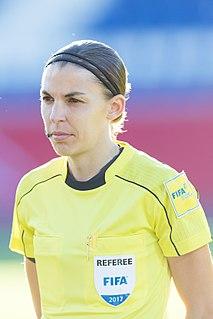Stéphanie Frappart French association football referee