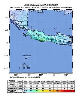2017 Java earthquake
