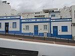 2018-03-06 White and blue houses on Rua Almirante Gago Coutinho, Albufeira.JPG