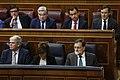 2018-05-31, Moción de censura al Gobierno, Mariano Rajoy, Soraya Sáenz de Santamaría, Alfonso Dastis, Pool Moncloa-Diego Crespo.jpg