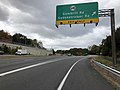 2018-10-29 12 52 06 View north along Virginia State Route 286 (Fairfax County Parkway) at the exit for Virginia State Route 640 (Gambrill Road, Sydenstricker Road) in Burke, Fairfax County, Virginia.jpg