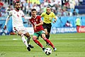 2018 FIFA World Cup Group B march IRN-MAR 31.jpg