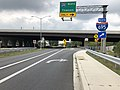 2019-08-15 10 56 19 View south along U.S. Route 1 (Southwestern Boulevard) at the exit for Interstate 695 NORTH (Towson) in Arbutus, Baltimore County, Maryland.jpg