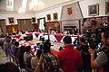 21-05-14- Quito Ecuador,Canciller Ricardo Patiño conversó con medios de comunicación sobre la universalización del SIDH y Día Internacional contra Chevron-5 (14239312235).jpg