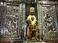 224 Basílica de Montserrat, cambra del tron de la Mare de Déu, amb relleus de Ramon Sunyer.JPG