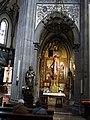 245 Església nova de Santo Tomás de Canterbury (Sabugo, Avilés), retaule del Sagrat Cor.jpg
