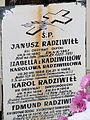 281012 The epitaph on the grave at Wilanów Cemetery - 02.jpg