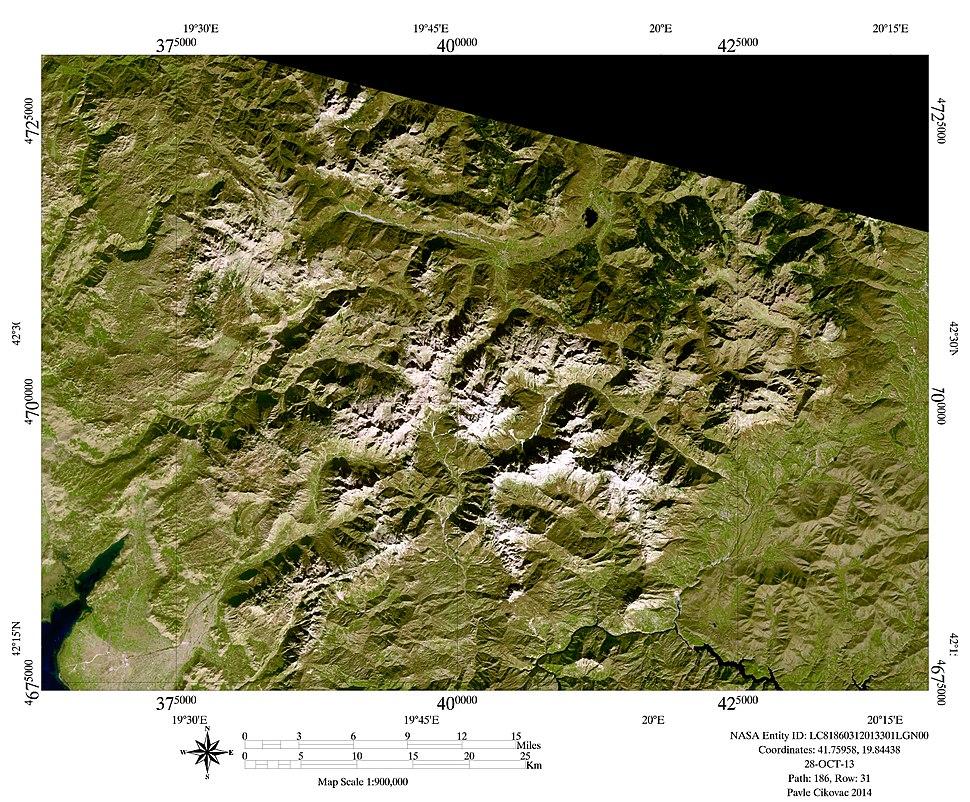 28 Oct 2013 654 HSV Prokletije glaciers