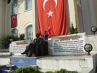 Flag of Turkey - Image: 29 ekim longuner panoramio
