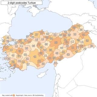 Postal codes in Turkey