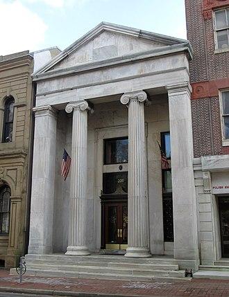 Philadelphia Savings Fund Society - The Society's 1840 headquarters