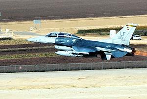 310th Fighter Squadron - Image: 310th Fighter Squadron F 16D Block 42A Fighting Falcon 88 0161