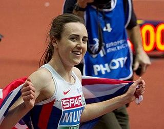 Laura Muir British middle-distance runner