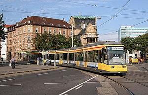 Trams in Karlsruhe