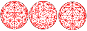 31 great circles of the spherical icosahedron - Image: 31greatcircle 3views