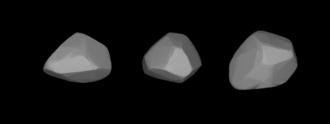 360 Carlova - A three-dimensional model of 360 Carlova based on its light curve