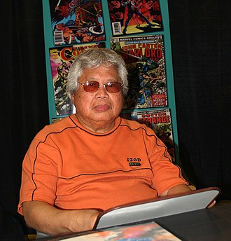 Rudy Nebres - Nebres at the 2015 East Coast Comicon in Secaucus, New Jersey