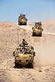 40 Commando Royal Marines Cross Afghan Desert in Jackal Vehicles MOD 45151959.jpg