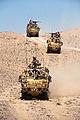 40 Commando Royal Marines Cross Afghan Desert in Jackal Vehicles MOD 45151959.jpg