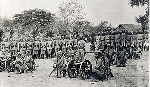 6th Queen Elizabeth's Own Gurkha Rifles - 42nd Gurkha Light Infantry, c. 1890