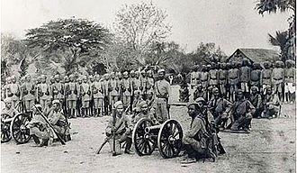 6th Queen Elizabeth's Own Gurkha Rifles - 42nd Gurkha Light Infantry, c. 1890