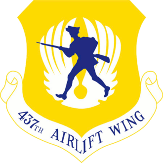 Charleston, South Carolina metropolitan area - Image: 437th Airlift Wing
