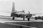 492d Bombardment Group Black Painted A-26 Invader on ramp.jpg