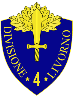 4th Infantry Division Livorno