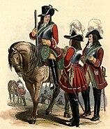 4th Regiment of Horse uniform (1687)
