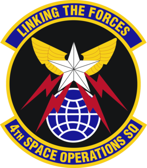 4th Space Operations Squadron - Image: 4th Space Operations Squadron