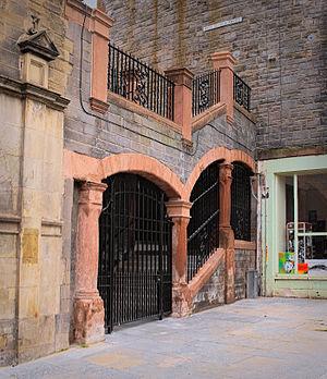Edinburgh University Settlement - High School Yards