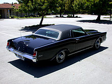 Lincoln Continental Mark III - Wikipedia