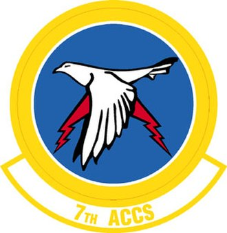7th Expeditionary Airborne Command and Control Squadron - Image: 7th Airborne Command and Control Squadron