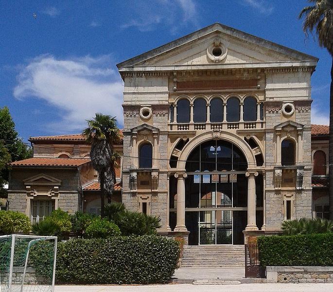 École Anatole France - 1889 - Vue de la façade du préau monumental depuis le sud (rue Edouard Cordier) - Architectes: Charles Maurel et Edouard Angeli