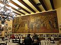 89 Can Culleretes, interior, mural de Francesc Tey.JPG