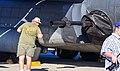 "90-1058 Lockheed MC-130W Gunship ""The Fourth Horseman"" - 105mm M-102 Howitzer (38365028542).jpg"