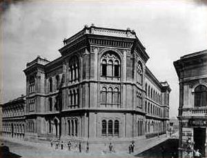 Budapest University of Jewish Studies - The Seminary building in 1902.