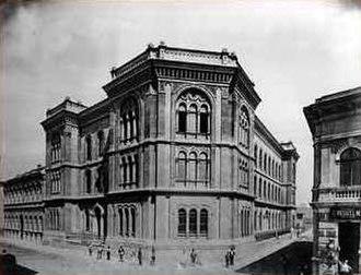 Budapest University of Jewish Studies - The Seminary building in 1902.