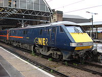 "91116 ""Strathclyde"" at King's Cross in 2004."