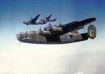 93d Bombardment Group B-24 Liberator Formation.jpg