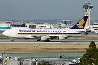 9V-SFK - B744 - Singapore Airlines