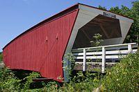 A447, Cedar Covered Bridge, Madison County, Iowa, USA, 2016.jpg